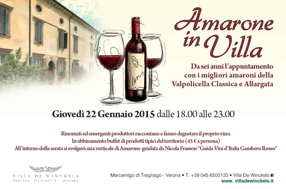 Amarone in Villa